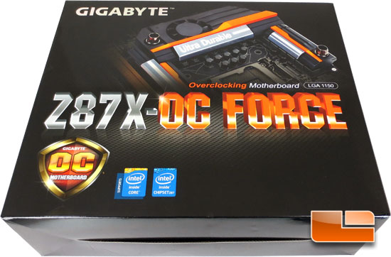 GIGABYTE Z87X-OC Force Retail Packaging and Accessory Bundle