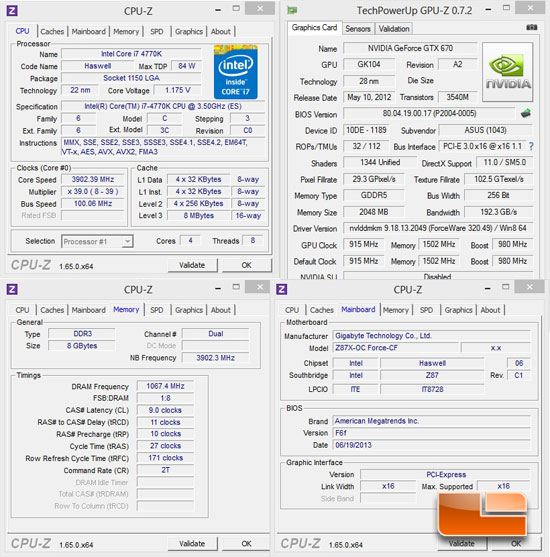 GIGABYTE Z87X-OC Force System Settings