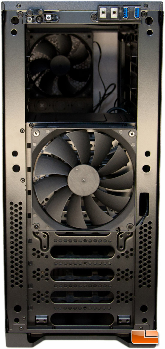 Corsair Carbide 300R Front - Panel Removed