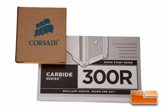 Corsair Carbide 300R Additional Contents