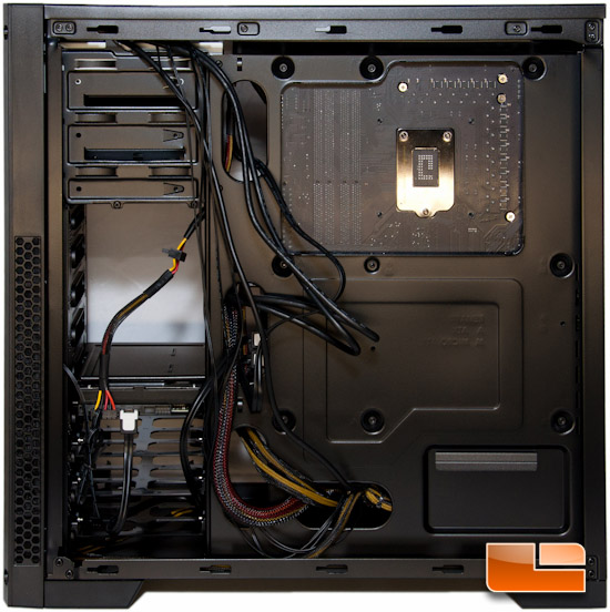 Corsair Carbide 300R Motherboard Tray Rear