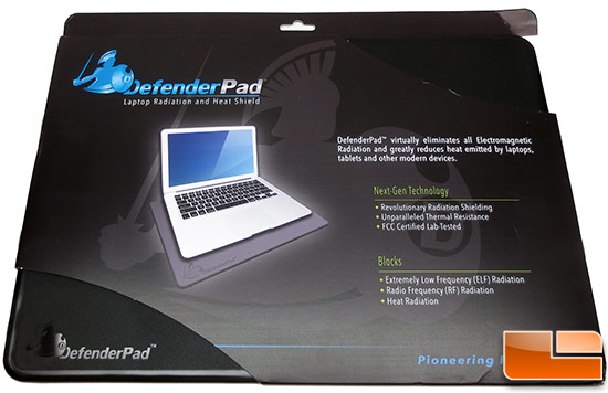 DefenderPad Laptop Protector