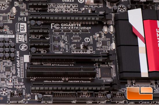 GIGABYTE Z87X-UD4H PCIe Slots