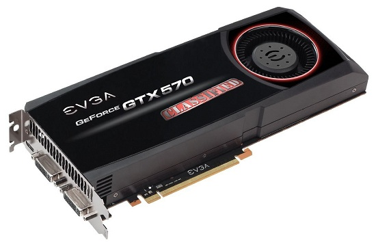 EVGA GTX 570 Classified