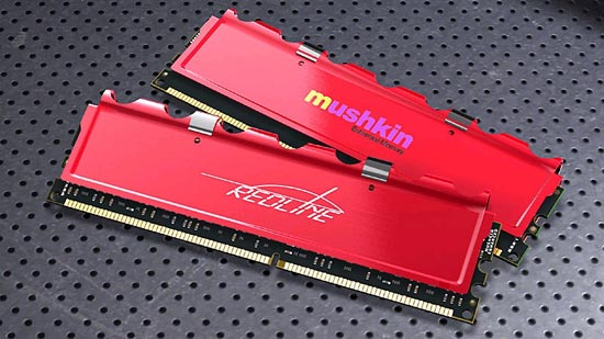 New Mushkin Memory Heat Spreader