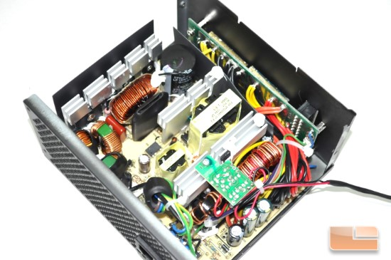 Inside the Silverstone Strider Plus 500W unit