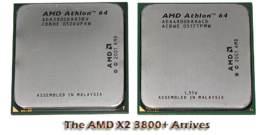 AMD Athlon X2 Dual Core 3800+ Processor