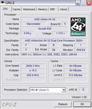 Overclocking the AMD Athlon X2 3800+ Processor - Legit
