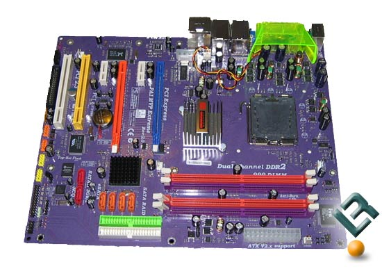 ECS PA1 MVP Motherboard Picture
