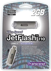 Transcend JetFlash 110 2GB Flash Drive