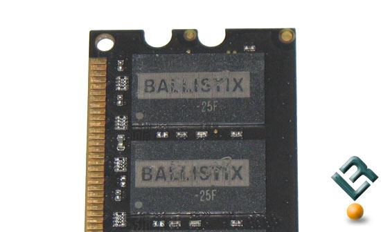 Crucial Ballistix PC2-6400 Memory IC's