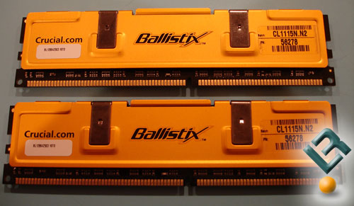 Crucial  Ballistix PC4000 2GB Memory Review