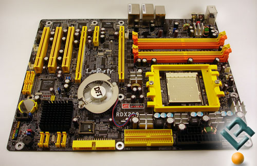 The DFI RDX200 CF-DR Motherboard Review