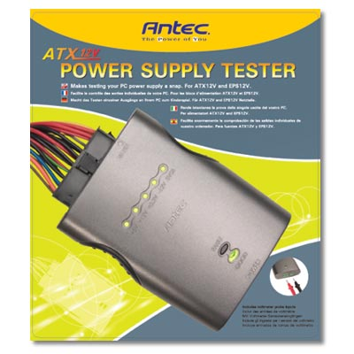 Antec ATX 12V Power Supply Tester Review