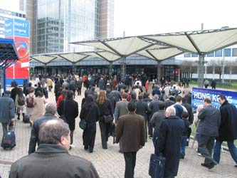 CeBIT Hannover, Germany 2004!