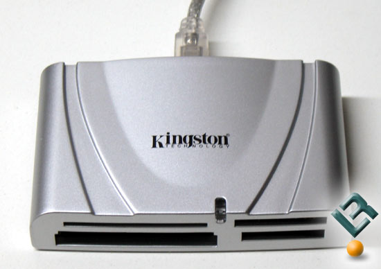 Kingston's FCR-HS215/1 Flash Memory Reader