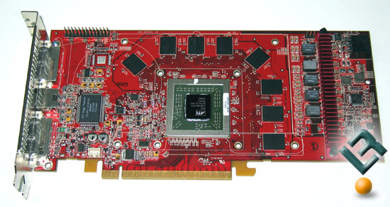 The ATI X1800XT Video Card With Heat Sink Removed