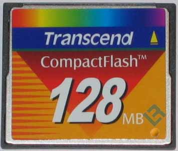 Compact Flash Memory