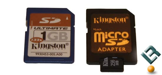 Kingston 256MB microSD Memory Card Review
