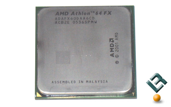 The AMD Athlon 64 FX-60 Dual-Core Processor