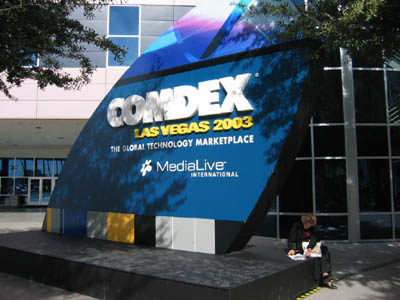 Event Coverage: Comdex 2003