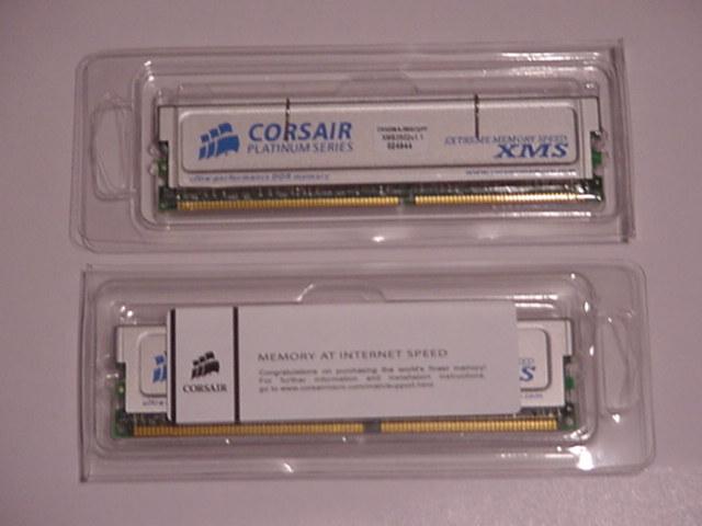 256mb Corsair PC-3500C2