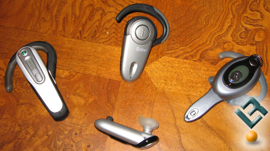 The Bluetooth Discovery 640 Headset with the Razr and Treo 650