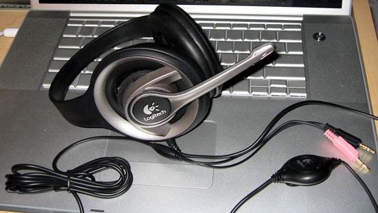 logitech precision pc gaming headset review   functionality and