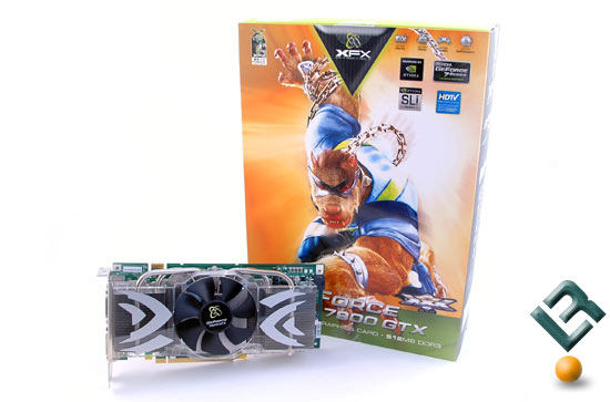 The XFX nVidia 7900GTX Retail Box