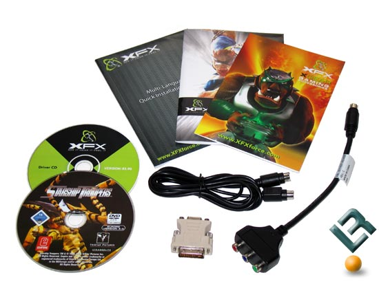The XFX GeForce 7600 GT Bundle