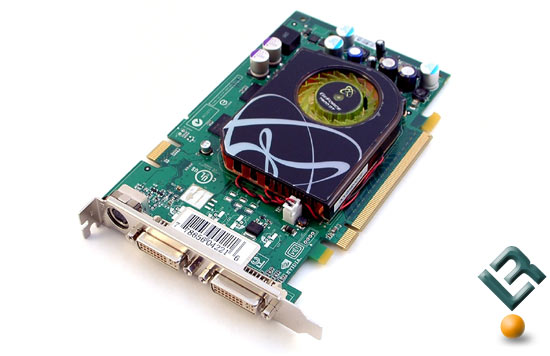 The XFX 7600 GT XXX Edition Video Card Side