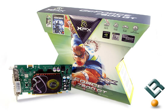 The XFX 7600 GT XXX Edition Video Card Retail Box