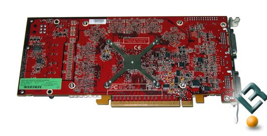 The ATI Radeon X1800 GTO Card Back