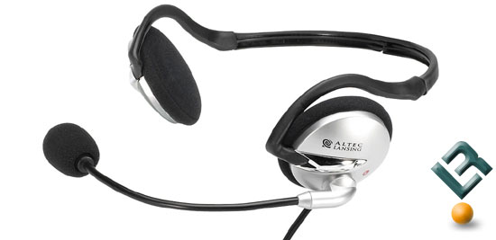 The Altec Lansing AHS302i Headset