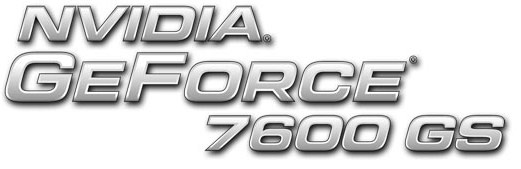 nVidia GeForce 7600 GS Video Card Logo