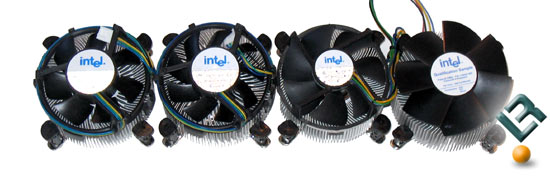The Different Intel Pentium D Heatsinks