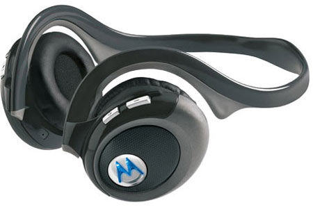 The Motorola HT820 Bluetooth Streo Headset
