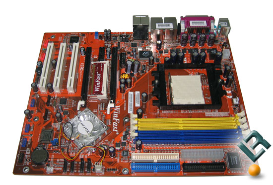 The Winfast NF4SK8AA-8EKRS Motherboard
