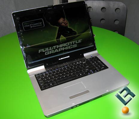 The Alienware M9700 GoForce 7900 GS SLI Notebook
