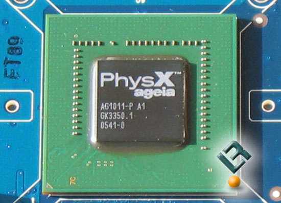 The ASUS PhysX P1 Core PPU