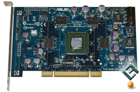 The ASUS PhysX P1 Card Naked