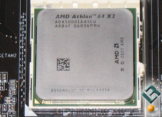 The AMD AM2 X2 5000+ Processor