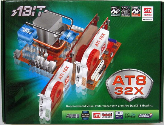 Abit AT8 32X  Crossfire Xpress 3200 Motherboard Review