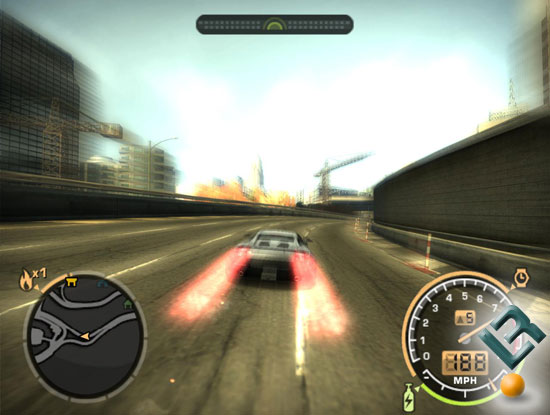 Need For Speed: Most Wanted Benchmarking