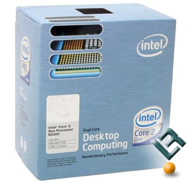 Intel Core 2 Duo E6300 Processor