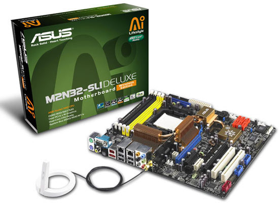 ASUS M2N32SLI Deluxe Motherboard Review