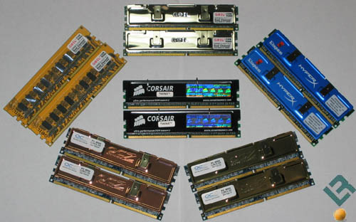 6-Way 1GB DDR500 Round-up