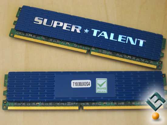 Super Talent T1000UX2G4 DDR2 Memory Kit Review