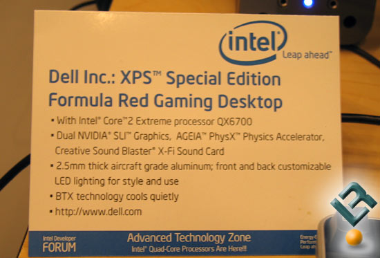 Dell XPS with Quad-Core Intel processors