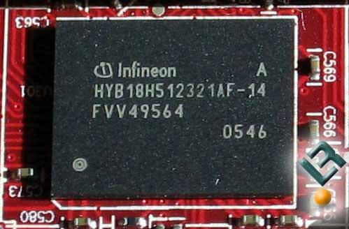 X1650XT Memory